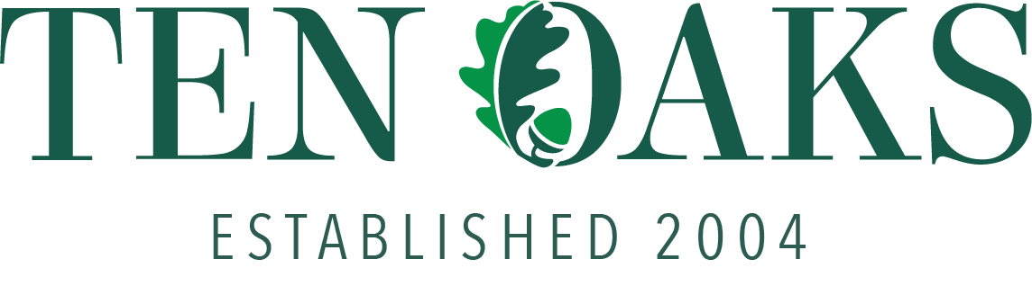 Ten Oaks logo